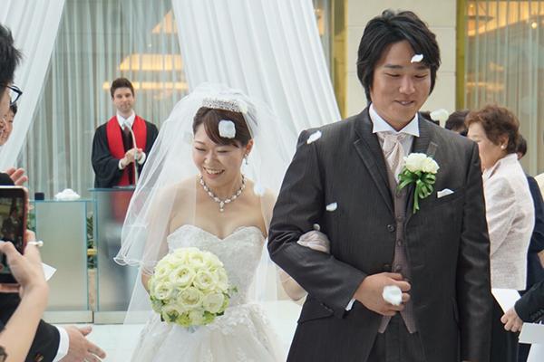 結婚式を終えて夫婦の絆が更に深まったなと感じました